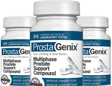 3 Bottles of ProstaGenix