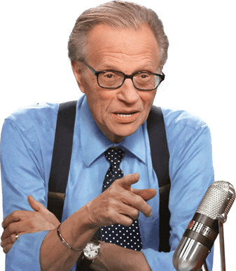 Larry King - Legendary Talk Show Host