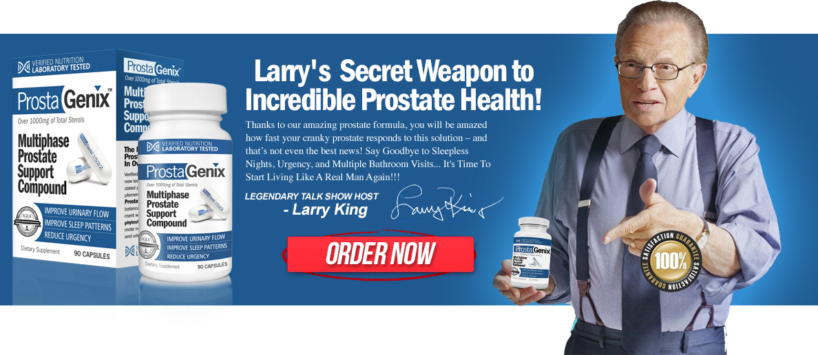 larry's secret weapon to incredible prostate health